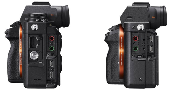 Sony-A9-Vs-A7rII-connectors