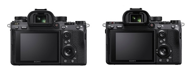 Sony-a9-vs-Sony-a7R-III-back